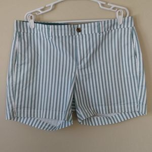 Old Navy Every Day Striped Shorts Plus Size 14